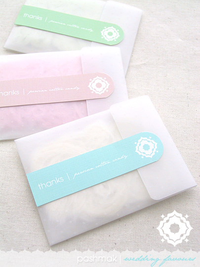 DIY Persian Cotton Candy Wedding or Party Favours