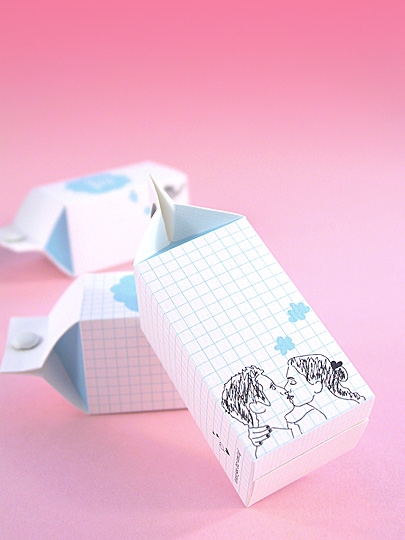 Wedding Favours: Mini Candy Cartons