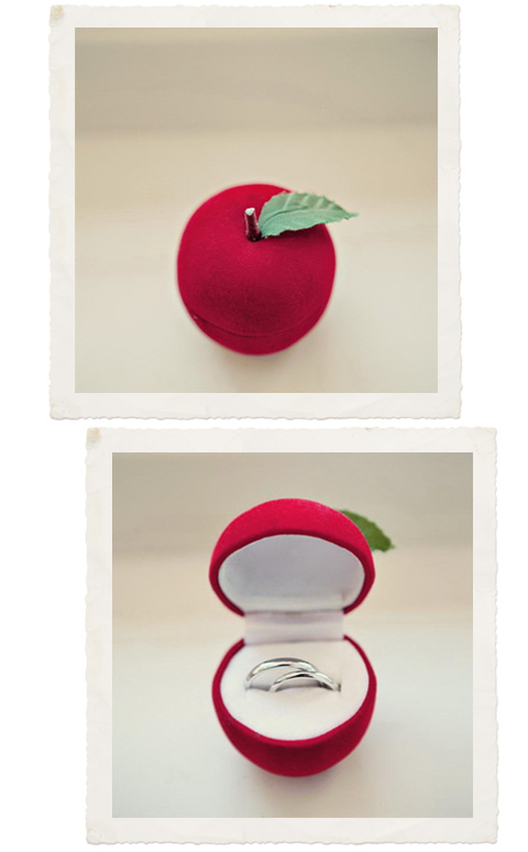 Spotted this whimsical red apple ring box in the The Cherry Blossom Girl 39s