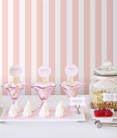 """DIY Ice-Cream Parlour """"Make your own Sundaes"""" Buffet Concept for a ..."""