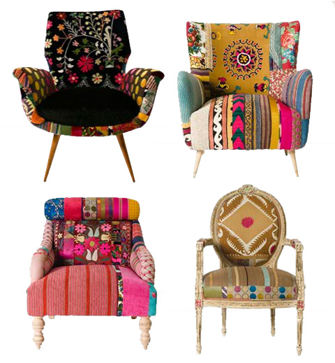 Bokja chairs eat drink chic for Funky armchairs