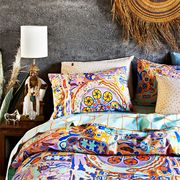 Awesome Love love LOVING Kip and Co us latest bedding collection for Spring Summer So many bright gorgeous super colourful patterns