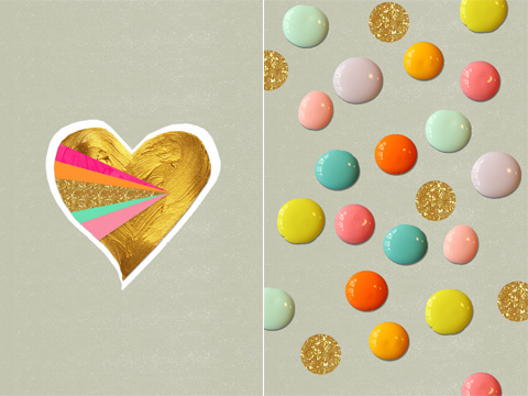 FREE IPhone Wallpaper Set Two Eat Drink Chic